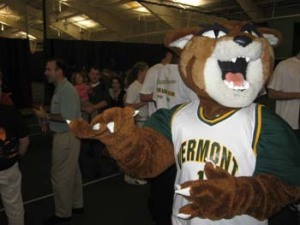 Rally the Catamount, University of Vermont\'s mascot