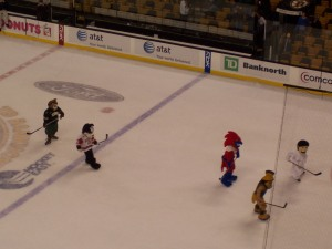 Mascots In Play
