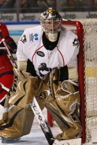 Wilkes-Barre/Scranton Penguins goalie John Curry
