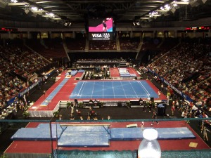 Agganis Arena and the 2008 Visa Championships