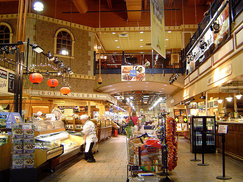 Interior of a newer Wegmans (photo by Flickr user robobby)